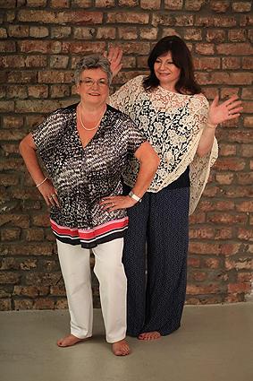 Sylvia Filz und Sigrid Konopatzki