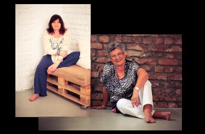 Über uns - Sylvia und Sigrid